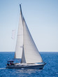Sailing yacht in Lefkada Greece - 69410733