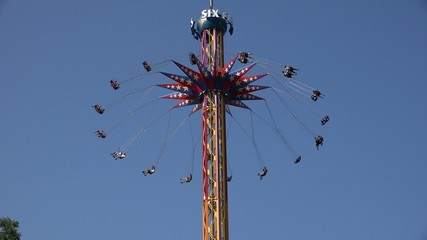Spinning, Amusement Park Rides, Chair Swing