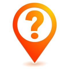 question aide sur symbole localisation orange