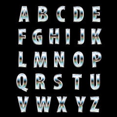 steel land letters