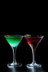 Fresh Martini cocktail