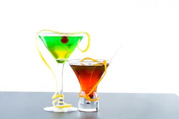 refreshing citrus cocktails  Lime Orange and Lemon