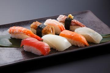 にぎり寿司の盛合わせ
