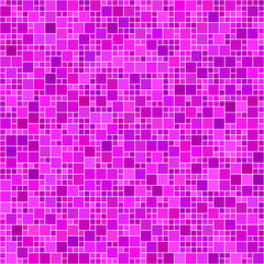 Magenta square mosaic background
