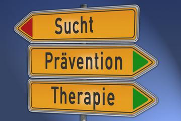Wegweiser Sucht, Therapie, Prävention