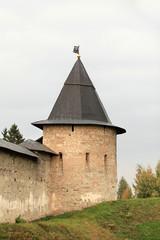 Pskov fortress autumn Russia