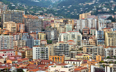 Monaco - Buildings background