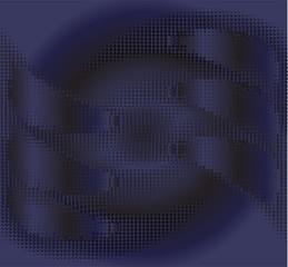 Dark blue texture background vector
