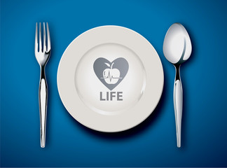 food is life