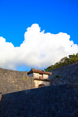 Kankaimon, Shurijo , Okinawa,Japan