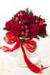Festive bouquet for Christmas