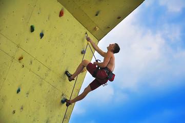 Young  man  climber
