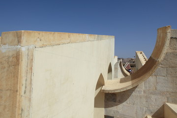 Astronomisches Observatorium Jantar Mantar Jaipur