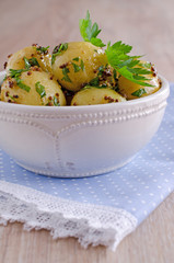Salad new potatoes