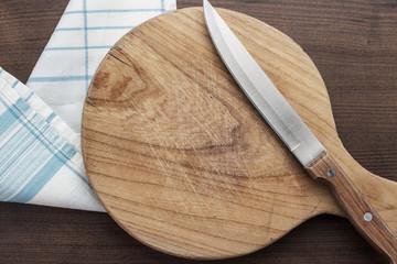 breadboard on table
