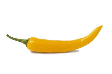 Yellow hot chili pepper