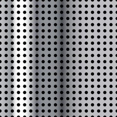 Vector Metal Sieve Background for Creative Work
