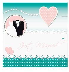 Hochzeit karte