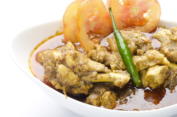 Yummy delicious chicken curry