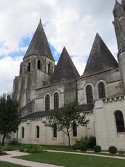 Indre-et-Loire - Loches - Collégiale saint-Ours