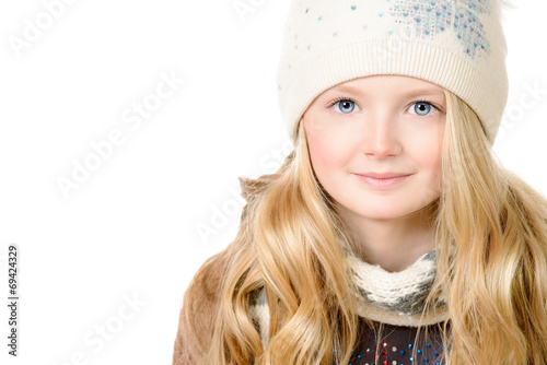 canvas print picture cute girl