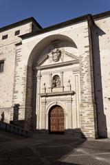 Facade of the Anunciada monastery.