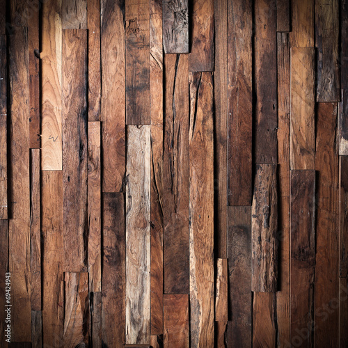 design of dark wood background - 69424943