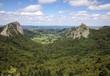 Постер, плакат: Albernia Auvergne i monti della catena dei Puys