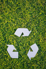 Recycling Sign Background
