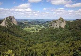 Albernia - Auvergne i monti della catena dei Puys