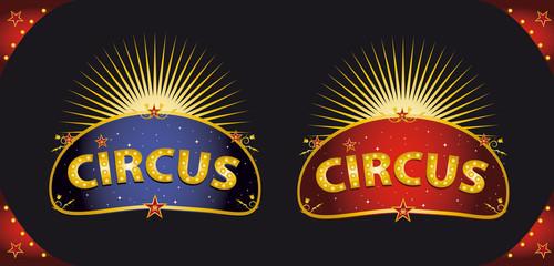 Circus placards
