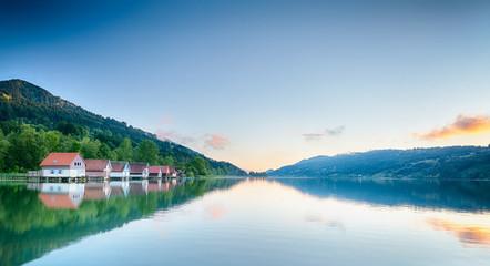 Summer Lake Reflections - Alpsee, Germany