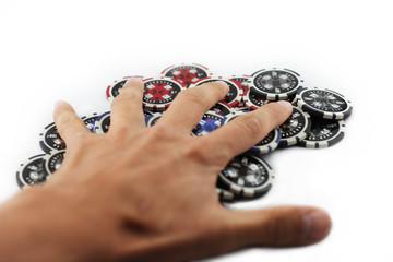Einsatz - Verlust - Poker