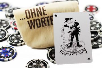 Poker - ohne Worte
