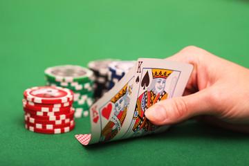 Texas Hold'em Strategiewechsel