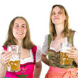 Drinking double beer on Oktoberfest