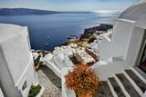 Fototapeta Santorini, Grecja, Oia, architektura