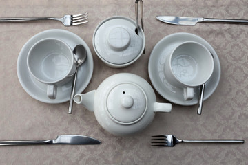 Utensils for tea