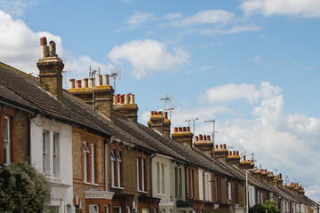 Residential Terrace Houses in Whitstable, Kent, uk