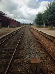 voie ferrée, gare, Digoin, Bourgogne, France