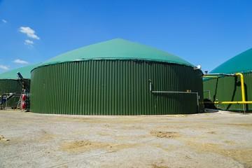Biogasanlage, Gärbehälter - Fermenter