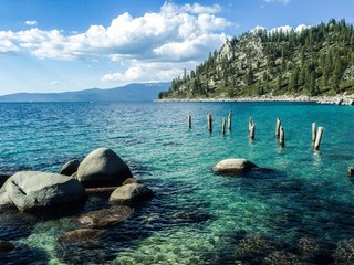 Summer scene at Lake Tahoe