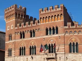 Palazzo Aldobrandeschi, Grosseto, Italy.