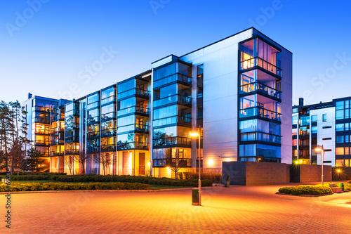 Leinwanddruck Bild Modern real estate