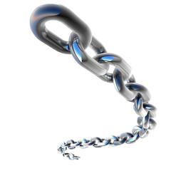 3D Chrome Chain
