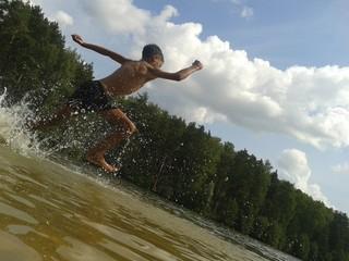 Run swim
