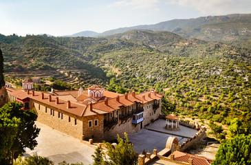 Monastery Megali Panagia, Samos, Greece