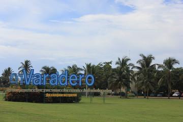 Arriving at Varadero