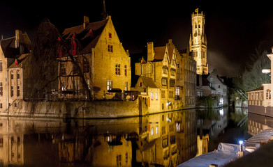 Romantic Bruges by Night
