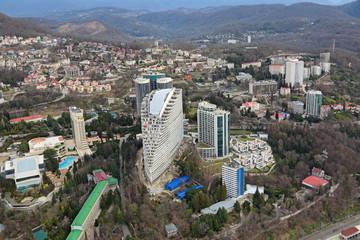 Sochi cityscape